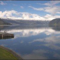 утро начинается с рыбалки :: liudmila drake
