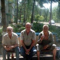 Три товарища. Свет и тень :: Нина Корешкова