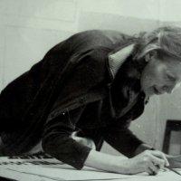 Корректор за работой, 1980 год :: Лебедев Виктор