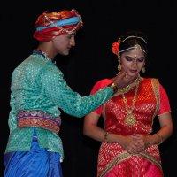 Индийский фестиваль. Сцена из спектакля 3 :: Александр Мельник