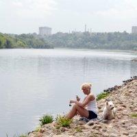 У реки Москвы :: Владимир Болдырев