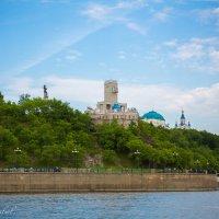 Хабаровск, вид с Амура на утёс :: Виталий Левшов