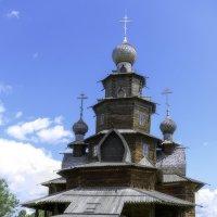 Деревянный храм :: Игорь Денисов