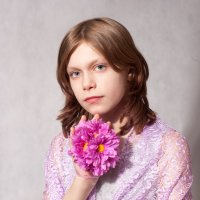 Алинка 12 лет :: Елена Луничкина