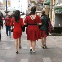 Леди....В красном... :: Алёна Савина