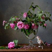 Роза и соловей №2 :: Татьяна Карачкова