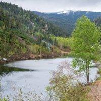 Горное озеро Амут. :: Поток