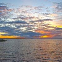 Закат на озером Петра :: Алена и Денис Щитовы