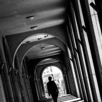 Черно-белый коридор :: Григорий Рак