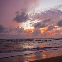 Индийский океан на закате :: Андрей Харченко