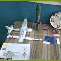 Выставка детских поделок и рисунков в Луганске, Лугансктепловоз ЦЗЛ :: Наталья (ShadeNataly) Мельник