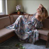 Чужая женщина — загадка для мужчины…  Её так хочется  скорее разгадать… :: Anna Gornostayeva