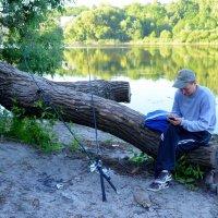 Интернет или рыбалка? :: Ростислав
