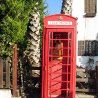 Телефонная будка времен Английского Мандата :: Герович Лилия