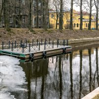На берегах Карповки :: Константин Бобинский