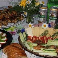 Праздничный стол на Лиго :: Mariya laimite