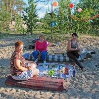 Северодвинск. Тёплый день у Белого моря. День рождения кстати :: Владимир Шибинский