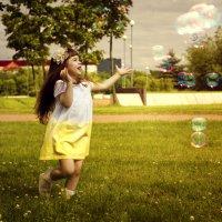 Милена и пузыри... :: Elena Fokina