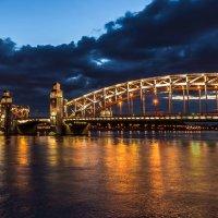 Охтинский мост :: Тиша