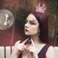 Черная шахматная королева :: Мария Дергунова