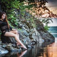 Вечерочком у воды... красота! :: Сергей Смоляков