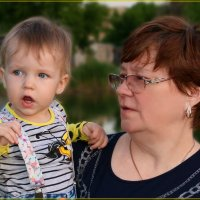 Бабуль... смотли... а те эт там сивелица. :: Anatol Livtsov