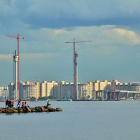 Вид на Васильевский остров :: Николай Танаев