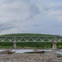 ж.д.мост через р. Чульмакан 23 июня :: Александр Давыдов