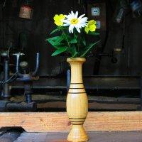 деревянная ваза (из серии Моя робота) :: Назар