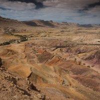Цветные пески Большого Кратера (Large Makhtesh) :: Валерий Цингауз