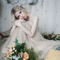 утро невесты в стиле бохо :: Виктория Соколова