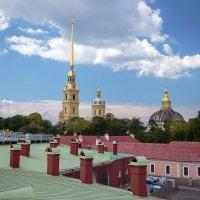 Крыши Петропавловской крепости :: Евгений Никифоров
