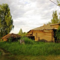 Старый дом :: Андрей Снегерёв