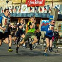 Соревнования по бегу. :: Валентин Кузьмин