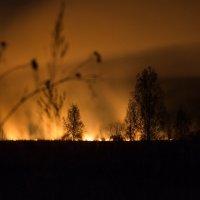 Ночной пожар :: Владимир Pechkin