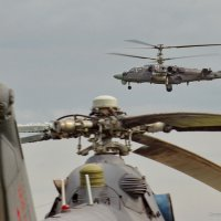 Ми-26 и Ка-52 :: Дмитрий Бубер