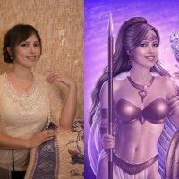 Athena... До/После :: Юлия Тягушова