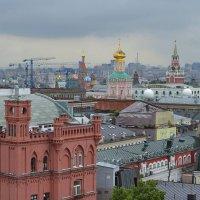Мокрая Москва :: Наталья Левина