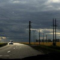 Грозовой  пейзаж. :: Валерия  Полещикова