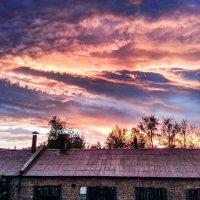 Предзакатное небо :: Геннадий Хоркин
