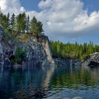 Рускеала,мраморный каньон. :: Аnatoly Gaponenko