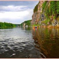 Плывём по Вишере :: Геннадий Ячменев