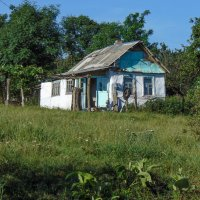 Сельский домик, согpетый добpотой женских pук... :: Юлия Бабитко