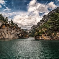 Зеленый каньон(Green Canyon)... Нефритовое царство Турции. :: Александр Вивчарик