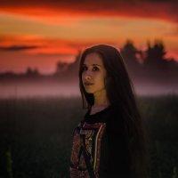 Прогулка на закате :: Юлия Михайлычева