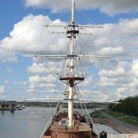 Великий Новгород. Паруса из облаков... :: Владимир Павлов