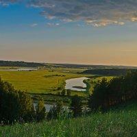Река Сылва  вид с горы села Серга... :: Владимир Хиль