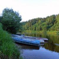 Вечер у реки :: Елена Грошева