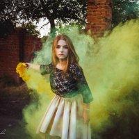 Цветной дым :: Алена