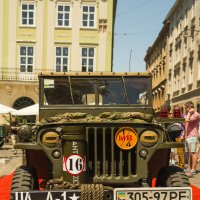 The restored car JEEP WILLYS (Military Police) :: Сергей